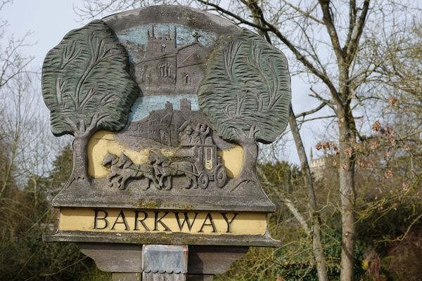 Barkway village sign